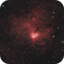 NGC 1491 Fossil Footprint Nebula,                                Morris Yoder