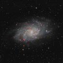 M33 Triangulum Galaxy,                                Glenn Diekmann