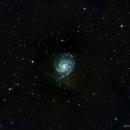Galaxia del molinete, M 101,                                Abel