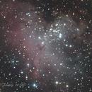 M16 The Eagle Nebula (crop),                                Fenton
