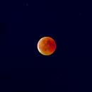 lunar eclipse,                                Peter Schmitz