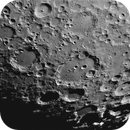 Clavius, best 25% of 5000 frames, IR685 filter,                                turfpit