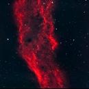 California Nebula from New York City,                                Alex Weinstein