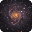 """IC 342 """"Hidden Galaxy"""" re-done,                                MarkB1971"""