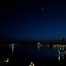 Moon-Venus conjunction over Venice,                                Vittorio