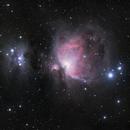 M42 Orion Nebula & NGC1977 Running Man,                                GregK