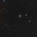 Galaxie NGC 3184 im Sternbild Großer Bär (Ursa Major),                                astrobrandy