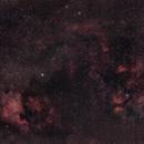 NGC7000, Deneb, Sadr and IC 1318,                                Wheeljack