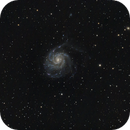 M101 with new AT115 - 7.6 hours,                                David Goldstein
