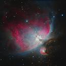 M42 Great Orion Nebula - RGB,                                Jerry Macon