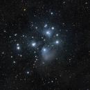 M45 Pleiades Star Cluster,                                Shobhit Raj