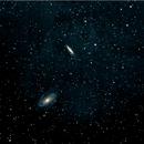 M81 and M82 - Luminance,                                Mike