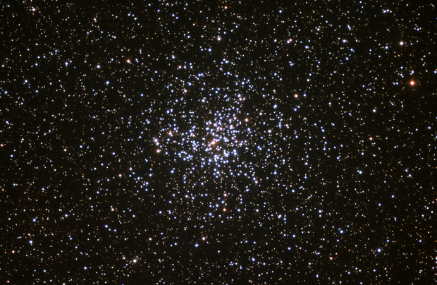 Open cluster Messier 37 in Auriga,                                Denis Bergeron