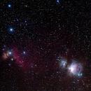 Orion Belt and Nebulae,                                DSA101