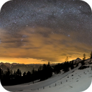 A rare view: The complete winter milky way bow,                                Markus A. R. Lang...