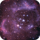 Rosette nebula,                                lucsali