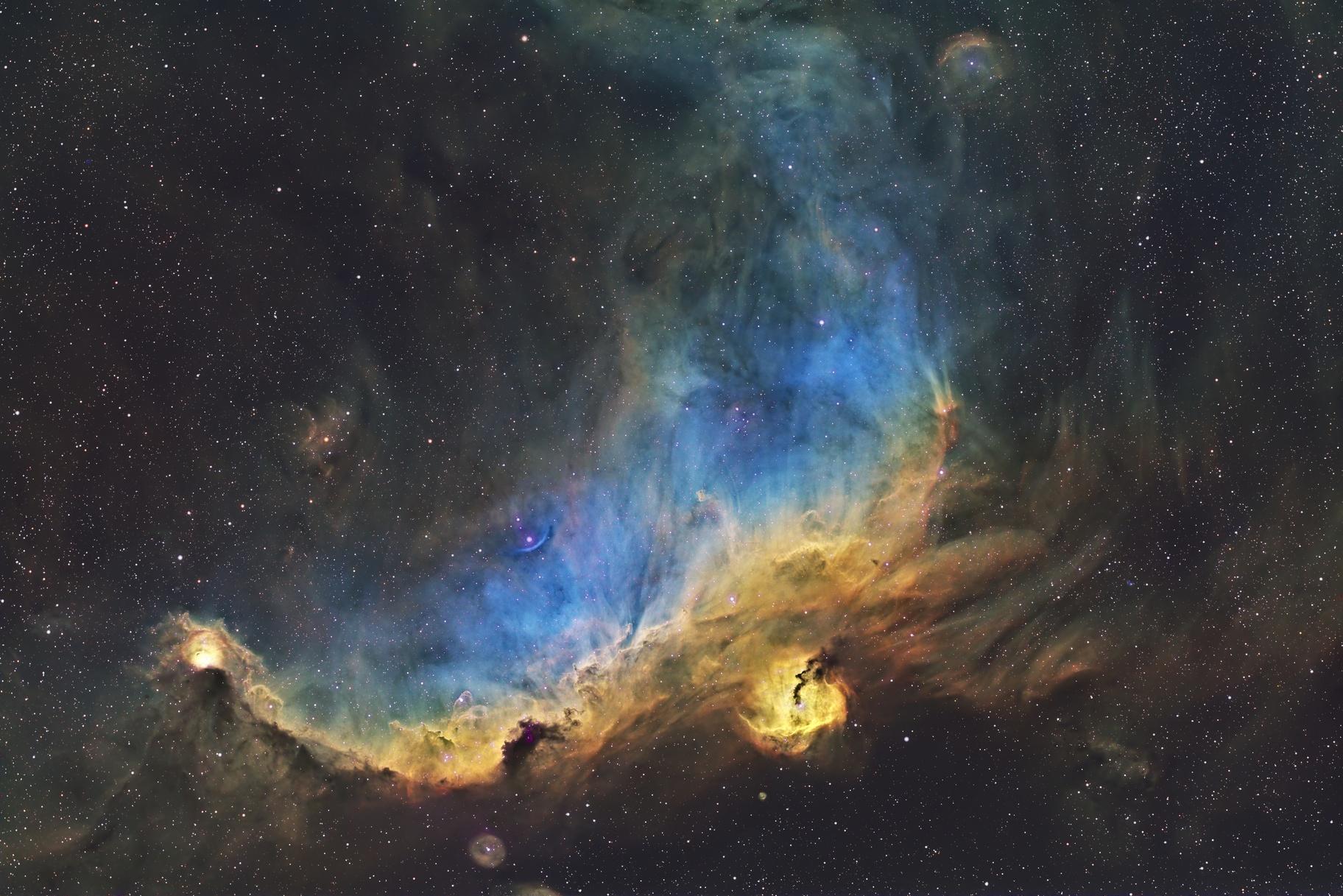 IC 2177 - Seagull Nebula,                    StockCarMafia
