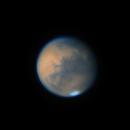 Mars @46° Altitude 09/18/2020 00:32 UTC,                                Falk Schiel