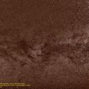 Deneb and Sadr with the North America Nebula NGC 7000 in the constellation Cygnus,                                Hans-Peter Olschewski