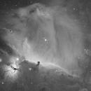 Horsehead Nebula H-alpha,                                KyeongSang,Yun