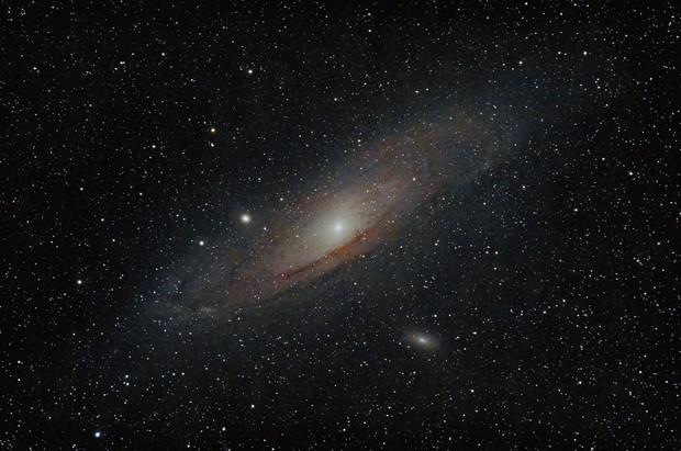 Andromeda Galaxy,                                Bortle9