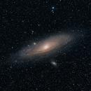 Andromedagalaxie,                                Patrick Vogel Fotografie