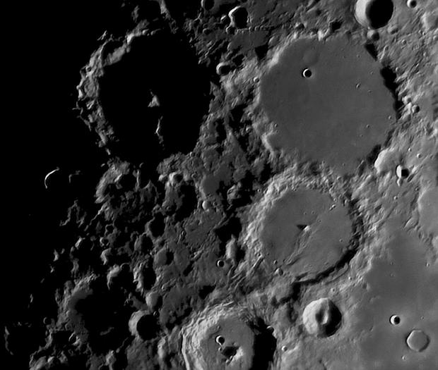 Albategnius, Ptolemaus, Alphonsus and Arzachel,                                MAILLARD
