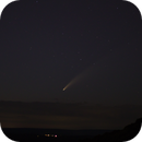 Comet NEOWISE,                                avarakin