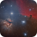 NGC 2024 Flame Nebula & IC 434 Horsehead Nebula,                                F83eric