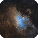 M16, The Eagle Nebula in SHO,                                James