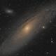 M31 - The Andromeda Galaxy,                                Nic Doebelin