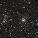 NGC 869 & 884 - Double Cluster in Perseus,                                Bernhard Zimmermann