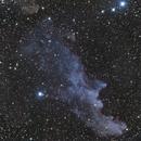 Witchead nebula in RGB,                                Janos Barabas