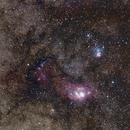 Sagittarius Trio - Widefield,                                cherokawa