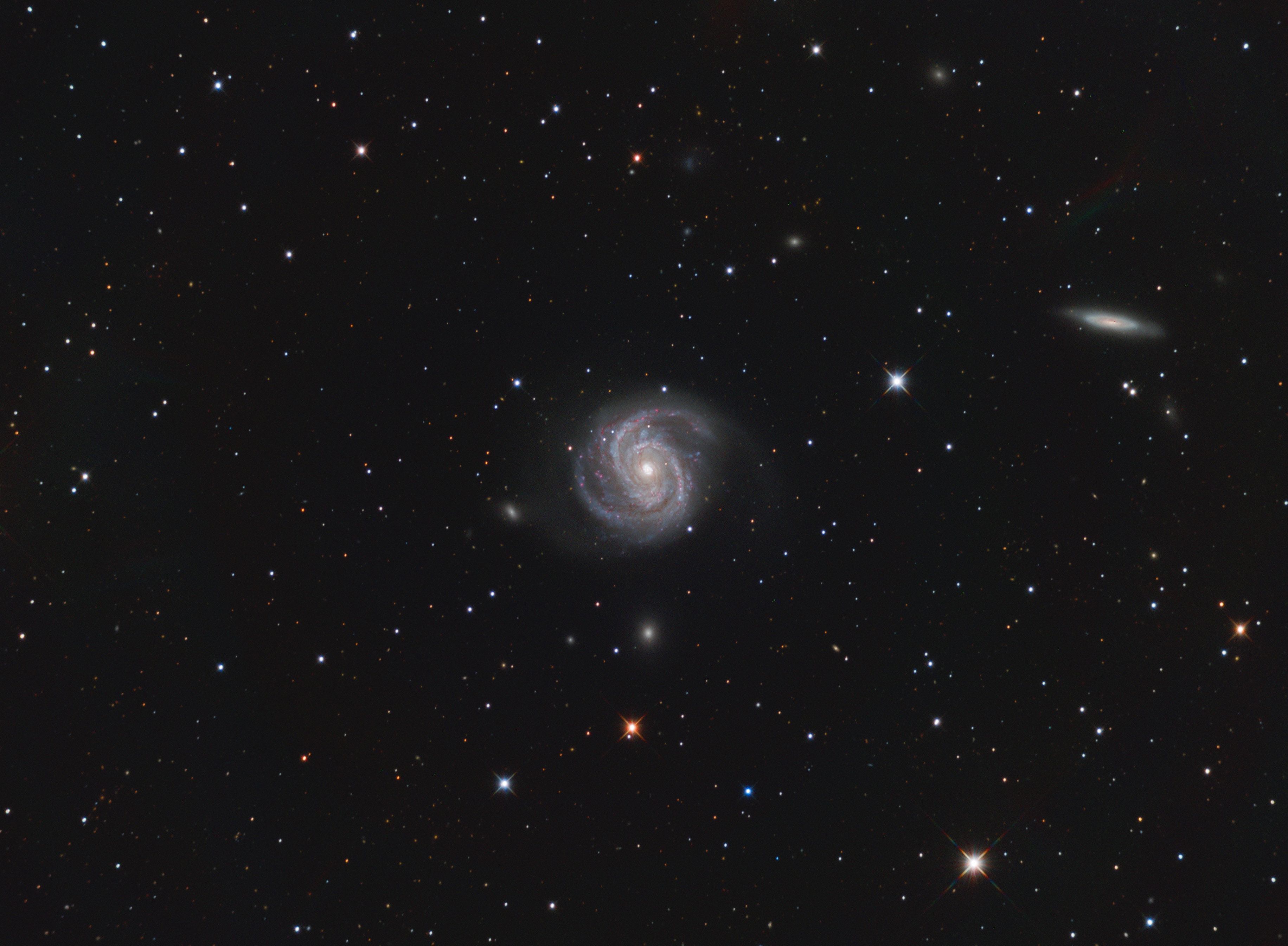 M100 | A grand design galaxy in Virgo cluster,                                physics5mickey