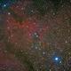 Elephant's Trunk Nebula in IC1396 @Saint Barthélemy star-party - 25/09/14 night + 27/08/14 + 23/08/13 uhc,                                Gianni Cerrato