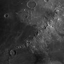 lune; les monts Apennins,                                galaga