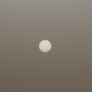 Afternoon sun - shining through Sahara dust,                                AC1000