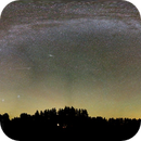 The Milkyway and Aurora Borealis,                                Tertsi