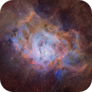 A Lagoon for Moana - M8 in Narrowband,                                Andy 01