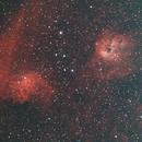 The Flaming Star Nebula IC405 Wide Field Region,                                Michael Mantini