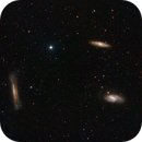 Leo Triplet (M65, M66 and NGC 3628),                                George Pappayliou