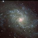 Messier 33,                                Virginie