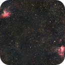 M16 and M17 wide field,                                Kharan