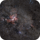 Eta Carina complex, NGC3372 wide (ish) field,                                Andrew Lockwood