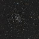 Offener Sternhaufen M 67 im Sternbild Krebs (Cancer) mal zwischendurch - Crop,                                astrobrandy