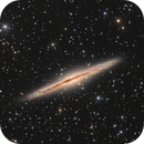 Spiral Galaxy NGC 891.,                                Vlad Onoprienko