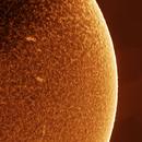 Sun surface -Chromosphere-,                                Boštjan Zagradišnik