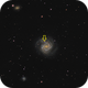 M 61 LRGB Supernova (full version),                                Paul Muskee
