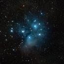 Messier 45 - The Pleiades,                                Art Morrison